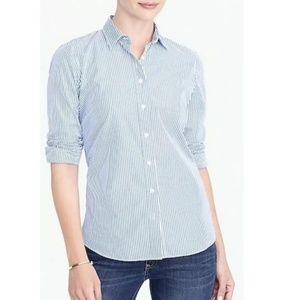 J Crew Striped Shirt Size M